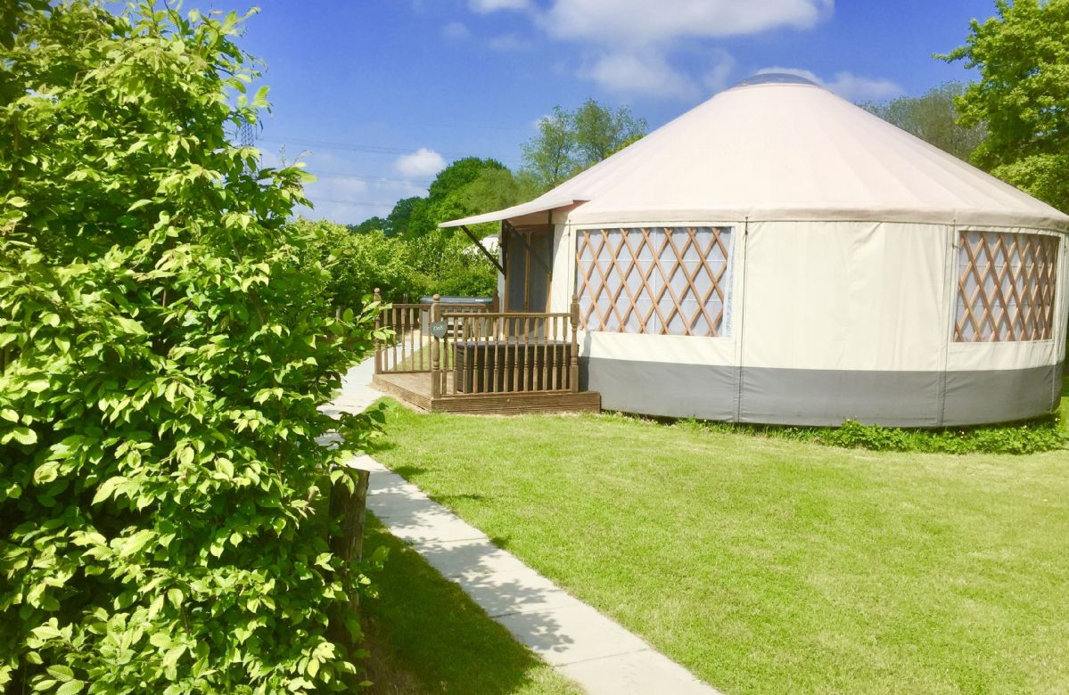 More information about Oak Yurt - ideal for a family holiday