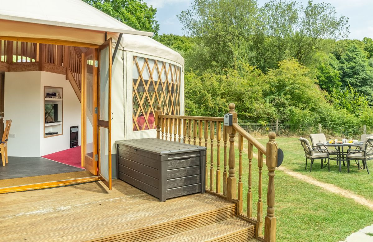 More information about Ash Yurt - ideal for a family holiday