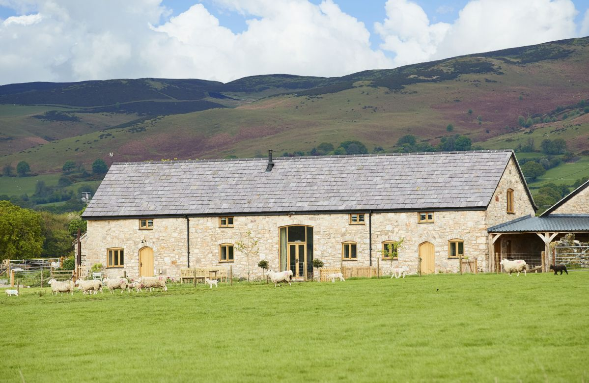 More information about The Longbarn at Caerfallen - ideal for a family holiday