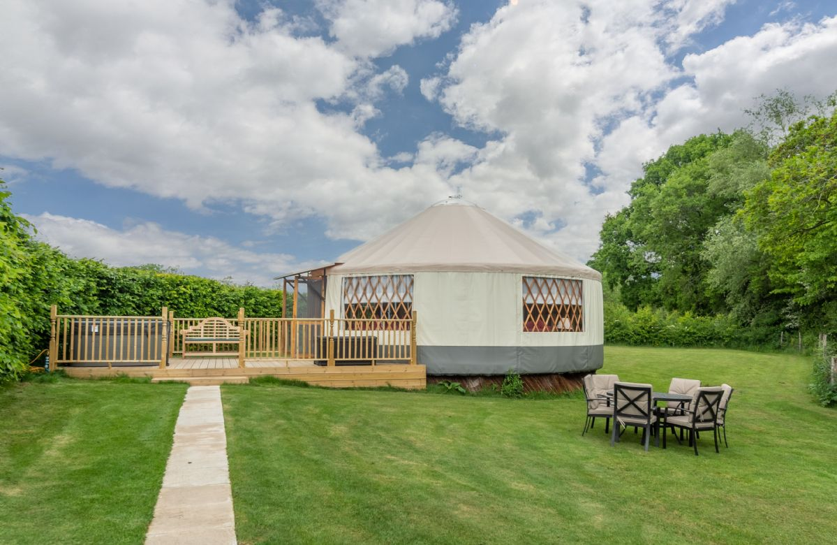 More information about Willow Yurt - ideal for a family holiday