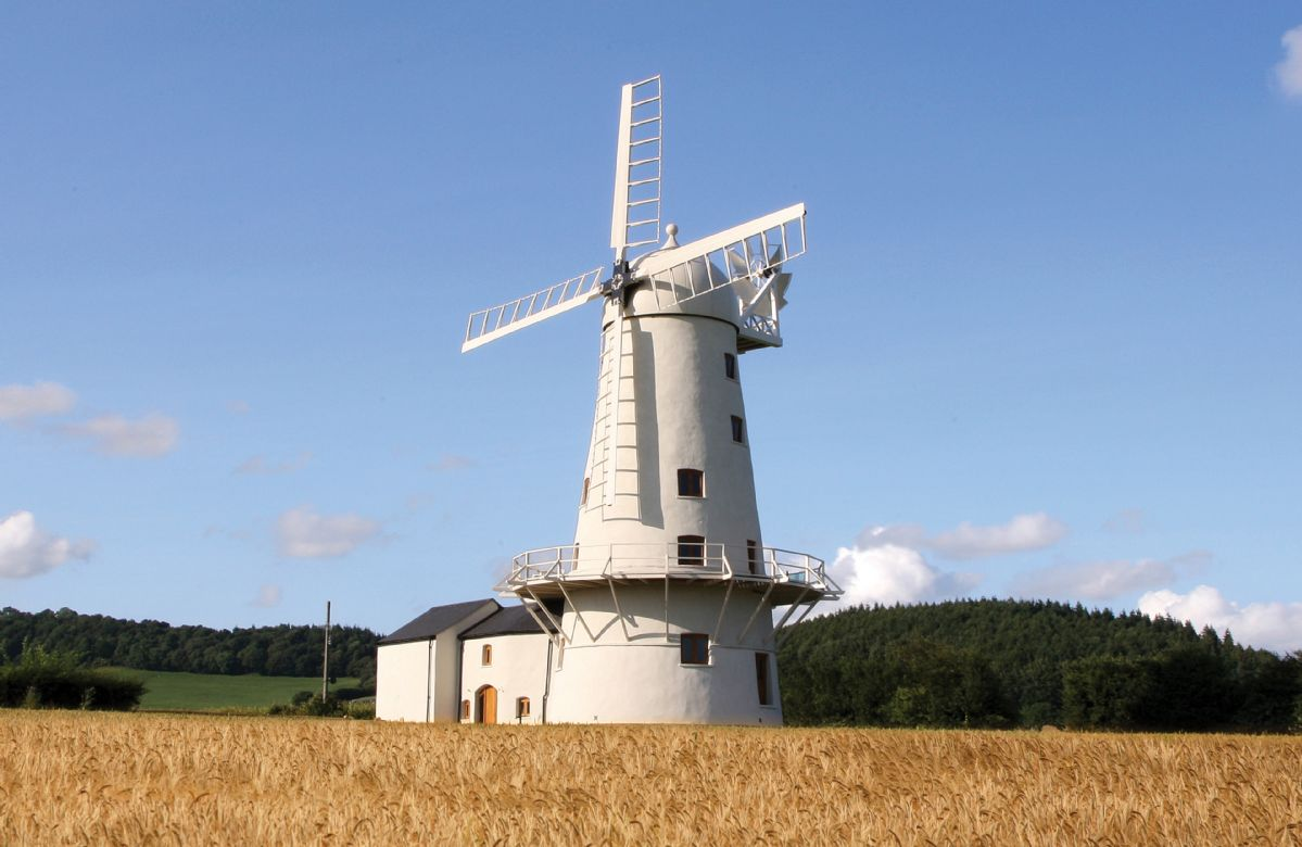 More information about Llancayo Windmill - ideal for a family holiday